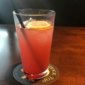 Order Low Or No Ice for Drinks at a Restaurant - glass of strawberry lemonade