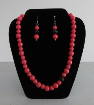 Name for a Business Selling Handmade Jewelry - red beaded necklace and matching earrings