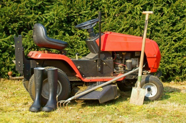 Photo Of A Riding Mower
