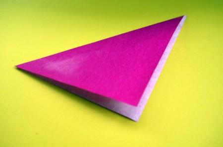 Paper Flower Decorations - folded paper