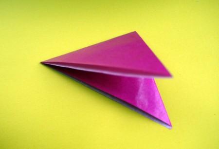 Paper Flower Decorations - fold it again