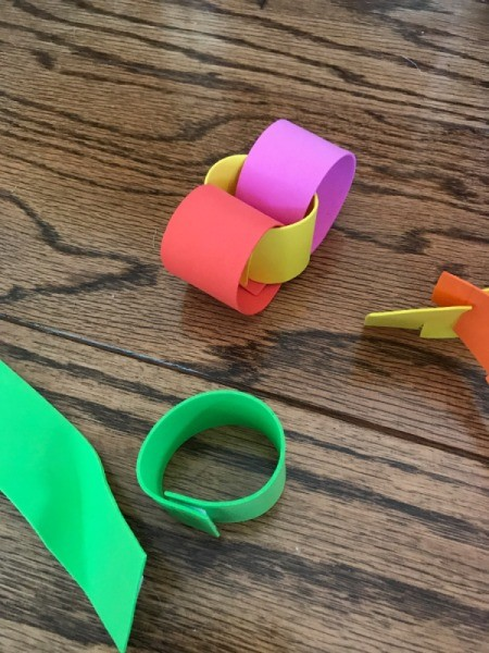 Foam Fun Activities - linked strips