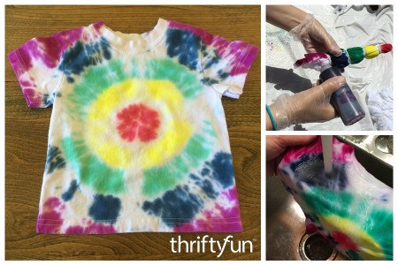 Bull's Eye Tie Dye Pattern