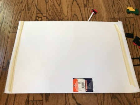 Felt Story Board  - white felt to cover foam board