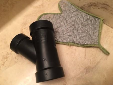 DIY Hot Hair Tools Holder - supplies