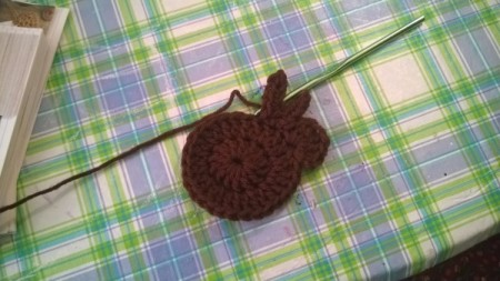 Crocheted Catnip Mouse and Bunny Toys - bunny