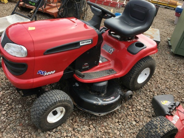 Red Craftsman Riding Mower