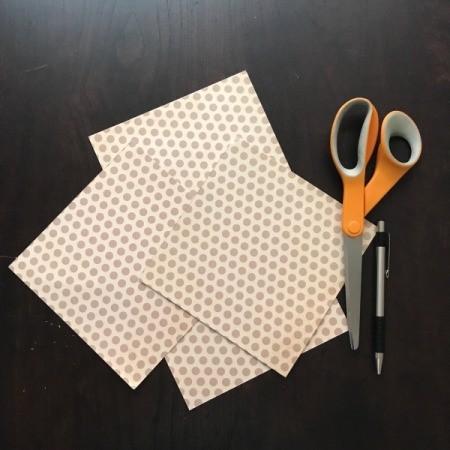 Pinwheel Wall Decor/Backdrop for Photos - cut into squares