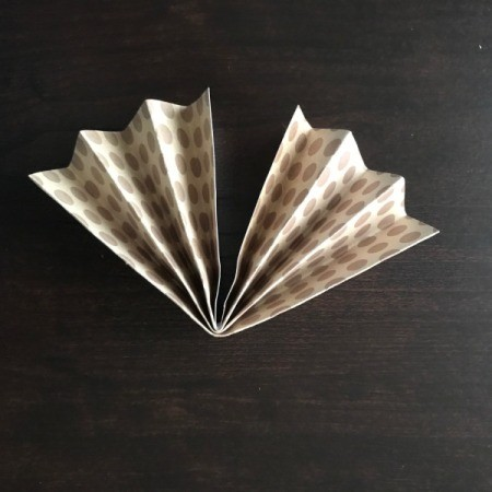 Pinwheel Wall Decor/Backdrop for Photos - folded half slightly open