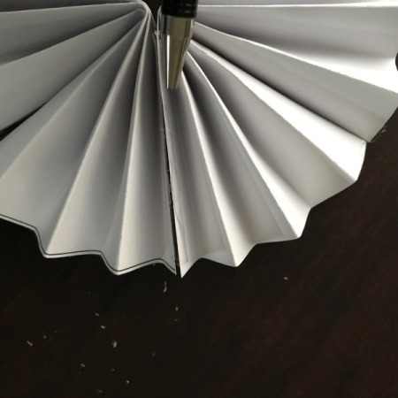 Pinwheel Wall Decor/Backdrop for Photos - taped seam
