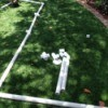 PVC Tunnel Building Project for Toddlers - child's PVC pipe layout