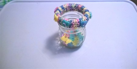 Crochet Covered Bangle