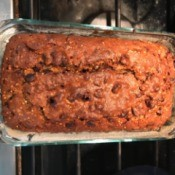 finished Chocolate Chip Banana Bread