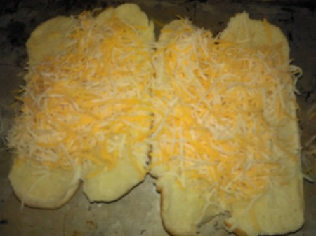 cheese on hotdog buns