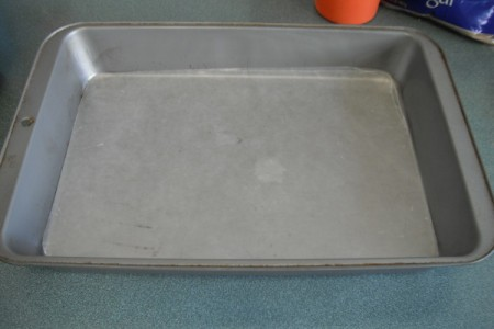 lined baking pan