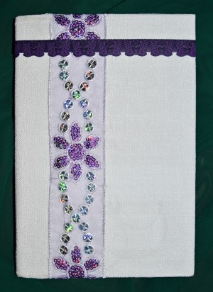 Decorated Journal Teacher's Appreciation Gift - finished journal