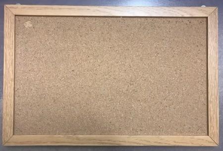 Personalized Bulletin Board - measure inside of bulletin board
