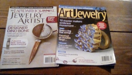 Organizing Articles Leaving the Magazine Intact - two magazines