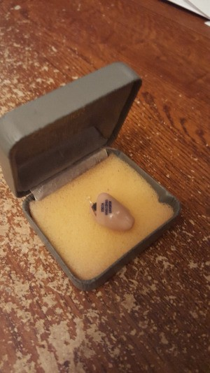 Safely Store Hearing Aid in a Jewelry Box - hearing aid in small jewelry box