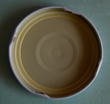 Delightful Jar Teacher's Appreciation Gift - cut a circle to fit lid from blue paper
