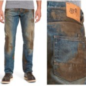Cleaning Dirt and Mud from Work Clothes