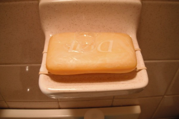 Use Rubber Bands On Soap Dish Thriftyfun