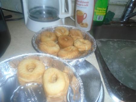deep fried Cake Donuts