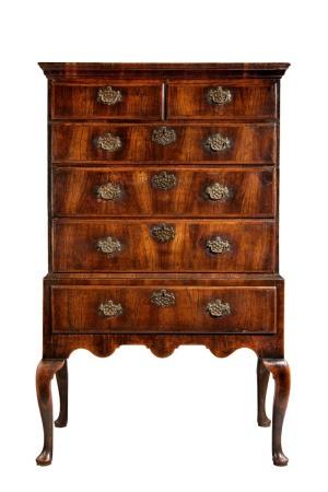 A beautiful antique dresser.