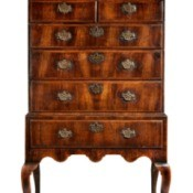 A beautiful antique dresser.