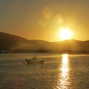 Sunset Over Knysna South Africa
