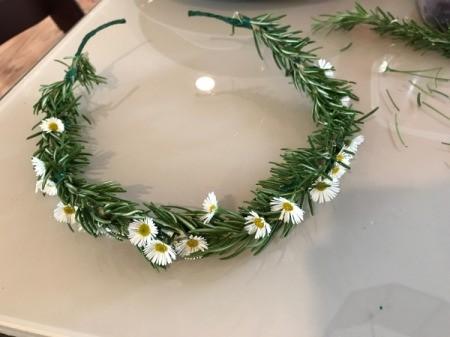 Flower Crown - add flowers