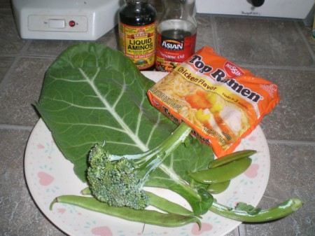 Healthier Ramen Noodles ingredients