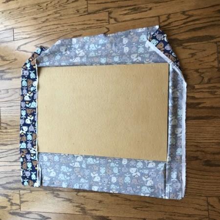 Fabric Corkboard