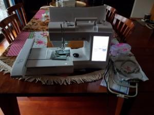 Using a Maker Original Embroidery Machine