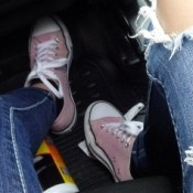 Bleaching Colored Converse Shoes