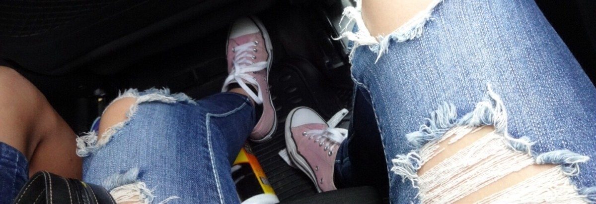 fe0e7db6fe96 My dad got me a pair of like light purplish pink Converse on my birthday  and I loved them. But I wanted to changed it to white by bleaching