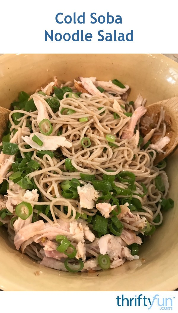 Cold Soba Noodle Salad | ThriftyFun