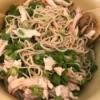 Cold Soba Noodle Salad in bowl