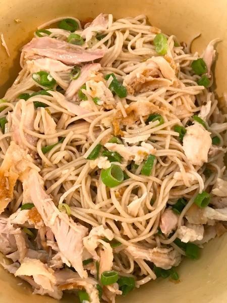 Cold Soba Noodle Salad