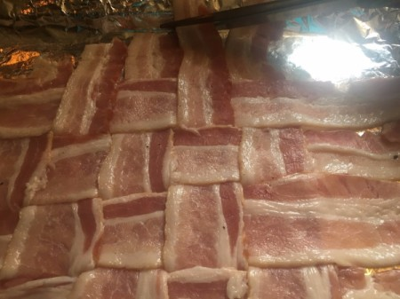 partially baked bacon strips