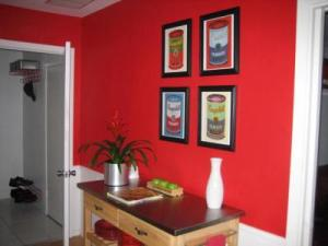 painting walls red - Painting Walls Red
