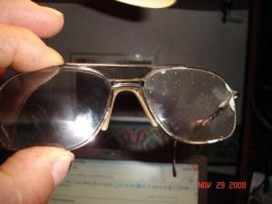 RE: Repairing Scratched Eyeglasses