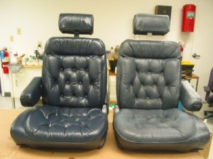 RE: Repairing Leather Seats
