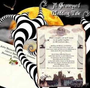 RE: Planning a Halloween Wedding