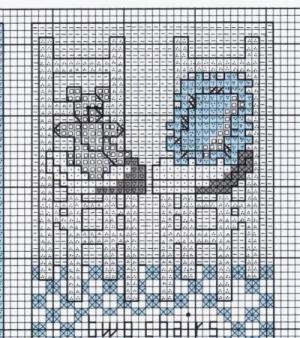 RE: Rocking Chair Cross Stitch Pattern