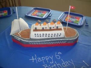 RE: Titanic Cake