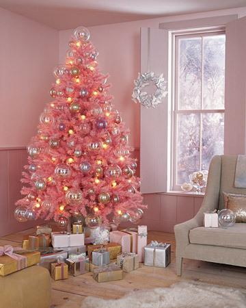 Decorating A Pink Christmas Tree Thriftyfun