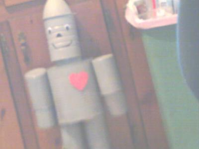 I Was Wonder How To Get The Pattern Make Tin Man Bird Feeder Made Tinman Hang Up And Wondering If Turn It Cut Holes In