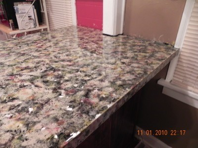 Painting Counter Tops To Look Like Granite Thriftyfun