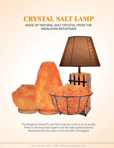 Salt Crystal Lamps Information : Looking For Information About Salt Crystal Lamps ThriftyFun